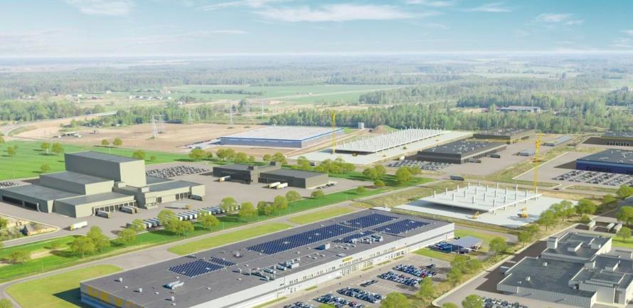 La prima zona industriale destinata all'affitto sarà costruita nella FEZ di Panevezys