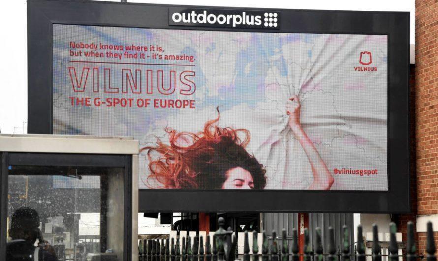 La controversa pubblicità lituana su Vilnius sembra funzionare