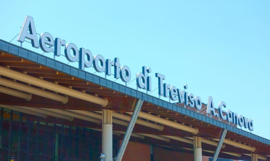 "Treviso oro uostas (Antonio Canova (TSF)) tampa ,,Ryanair"" baze"
