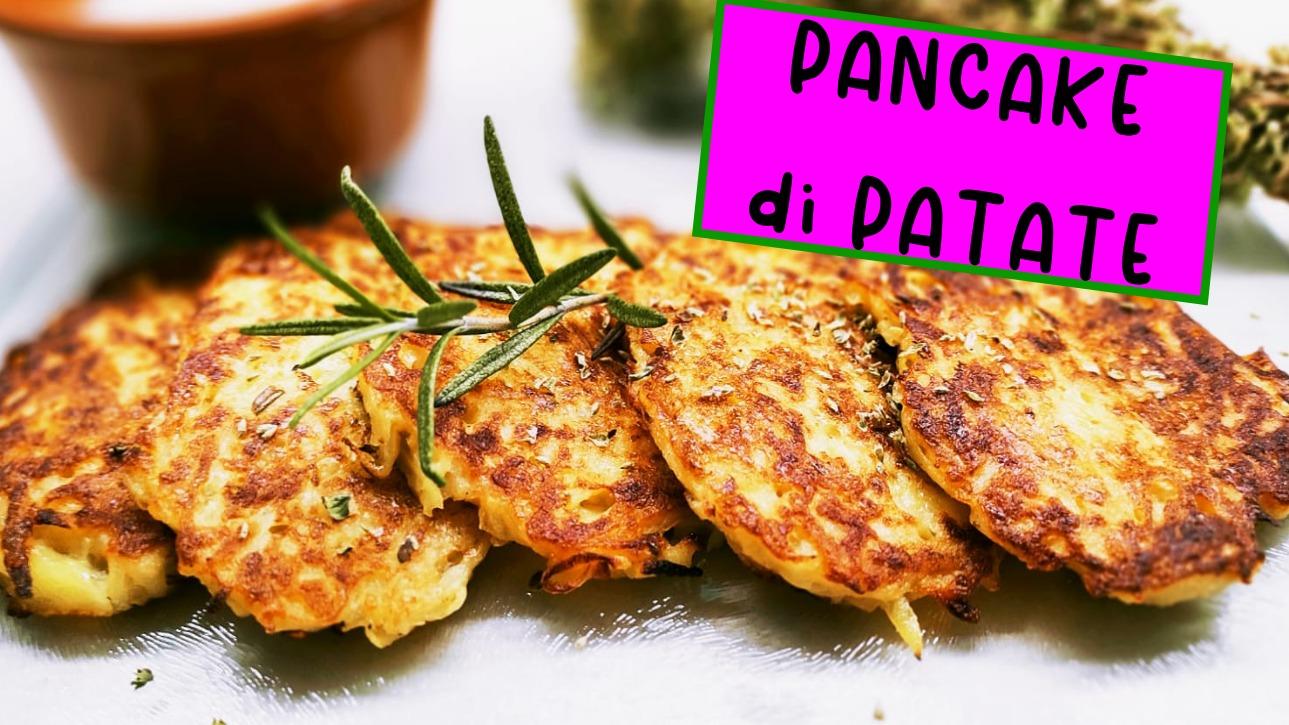 bulviniai blynai pancake di patate salati