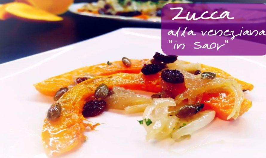 Saldžiarūgštis moliūgų garnyras pagal venecijiečių receptą